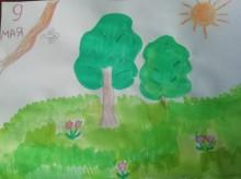 Конкурс рисунка «Сад памяти глазами детей»